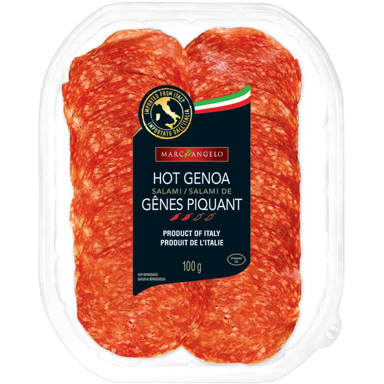 Hot Genoa Packaging