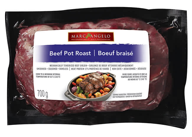 Marcangelo Beef Pot Roast Packaged Product Photo