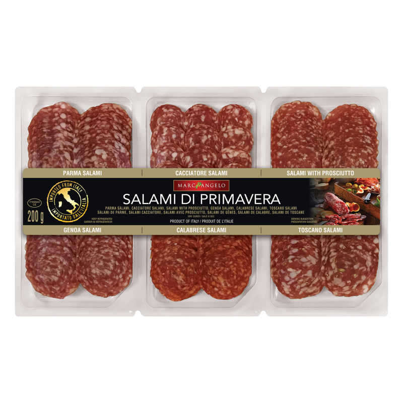 Salami di Primavera Packaging