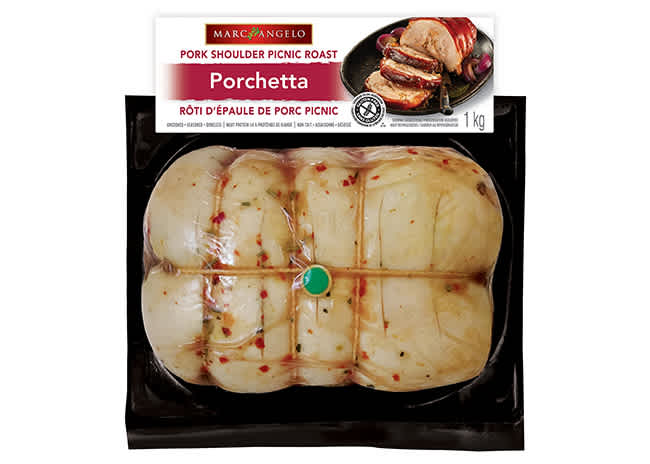Marcangelo Porchetta Packaged Product Photo