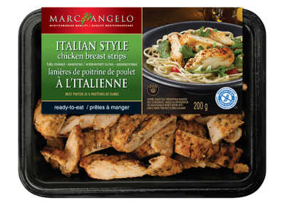 MA Chicken Strips Italian Packaging