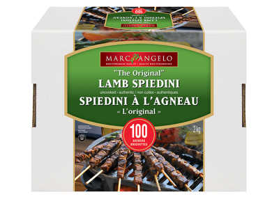 Lamb Spiedini Pkg 100