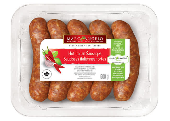 Sausages Hot Italian Pork Package