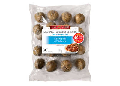 Packaging Frozen Chicken Meatballs VP