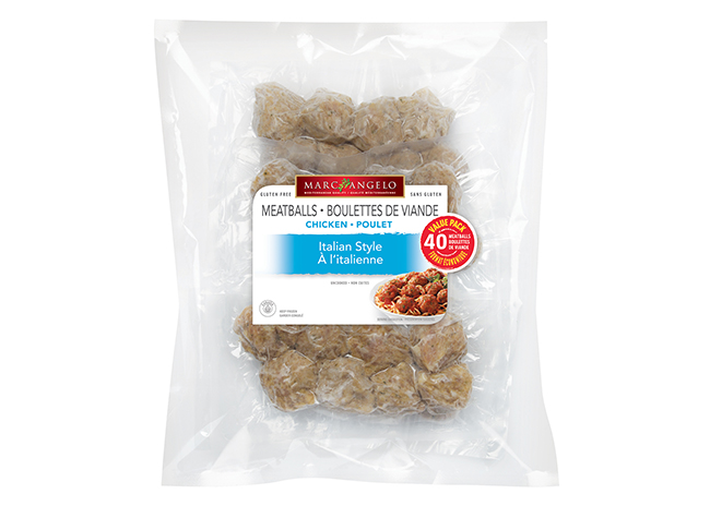 Packaging Chicken Meatballs VP