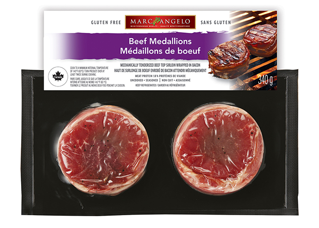 Beef Medallions Package
