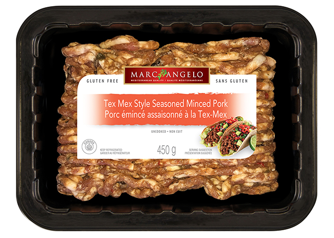 Tex Mex Minced Pork Packaging