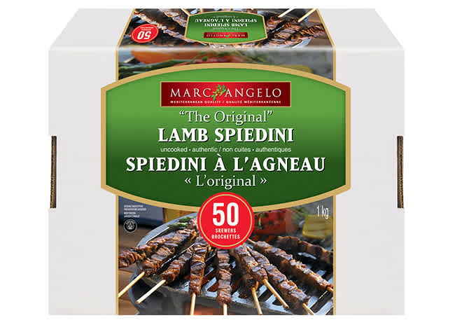 Lamb Spiedini Pkg 50