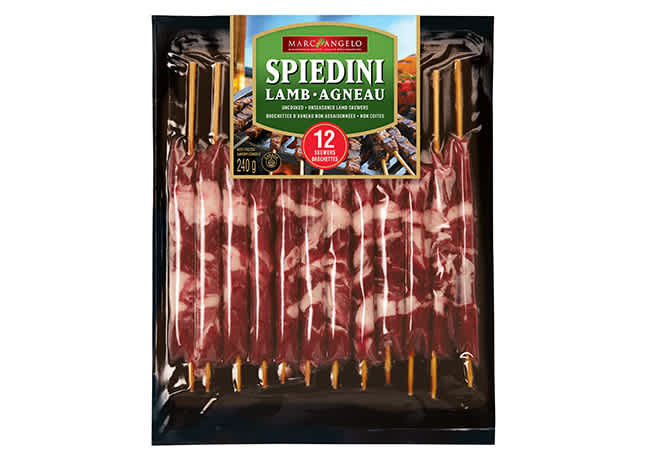 Lamb Spiedini Pkg 12