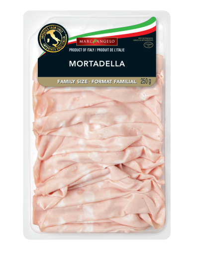 Table Ready Mortadella Packaging