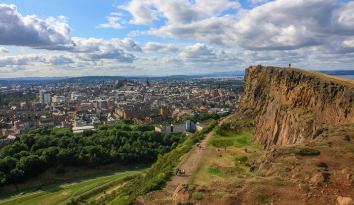 Edinburgh arthurs seat proposal location