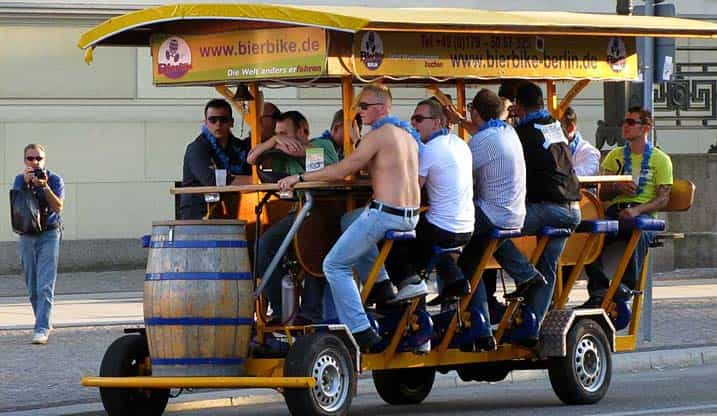 Stag Party Activities Beer Bike Tours The Stags Balls