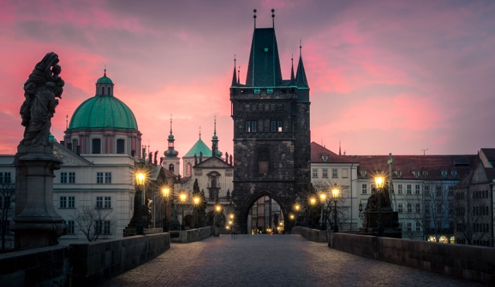 Prague proposal location