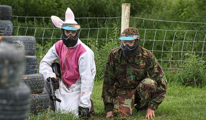 Stag Party Pranks Rabbit Paintball The Stags Balls
