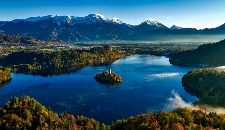 Lake Bled proposal location