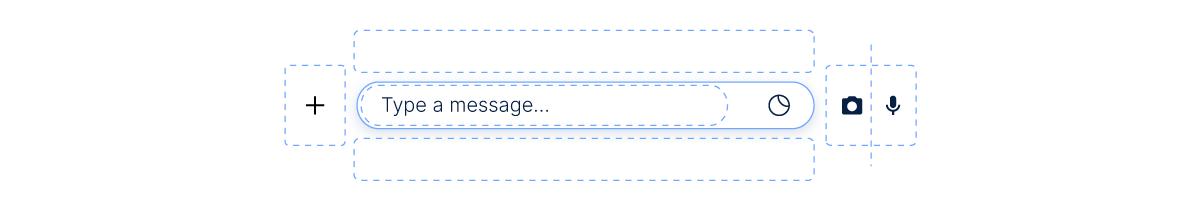 Chat media attachments window prototype