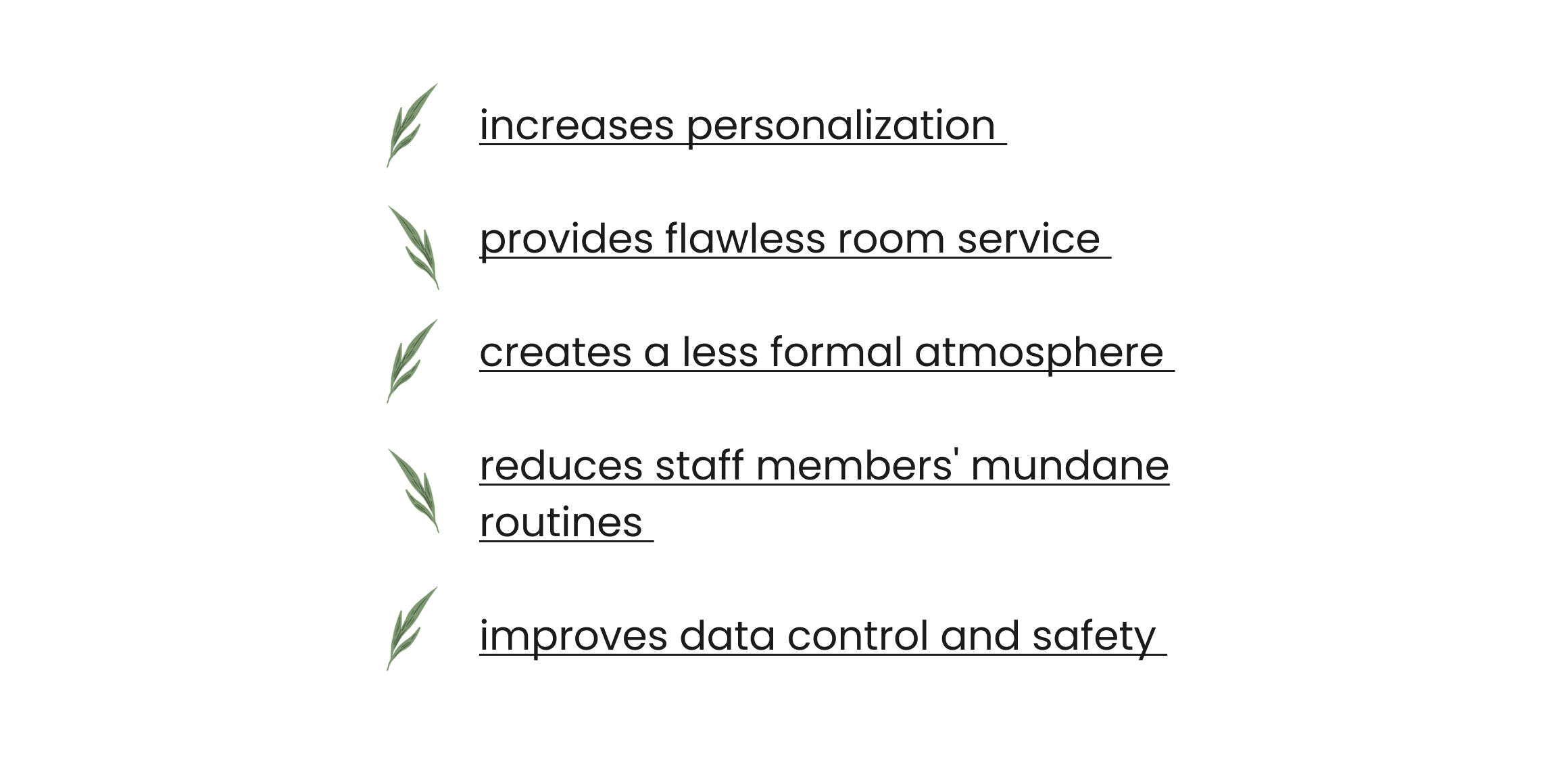 advantages of a hotel management system