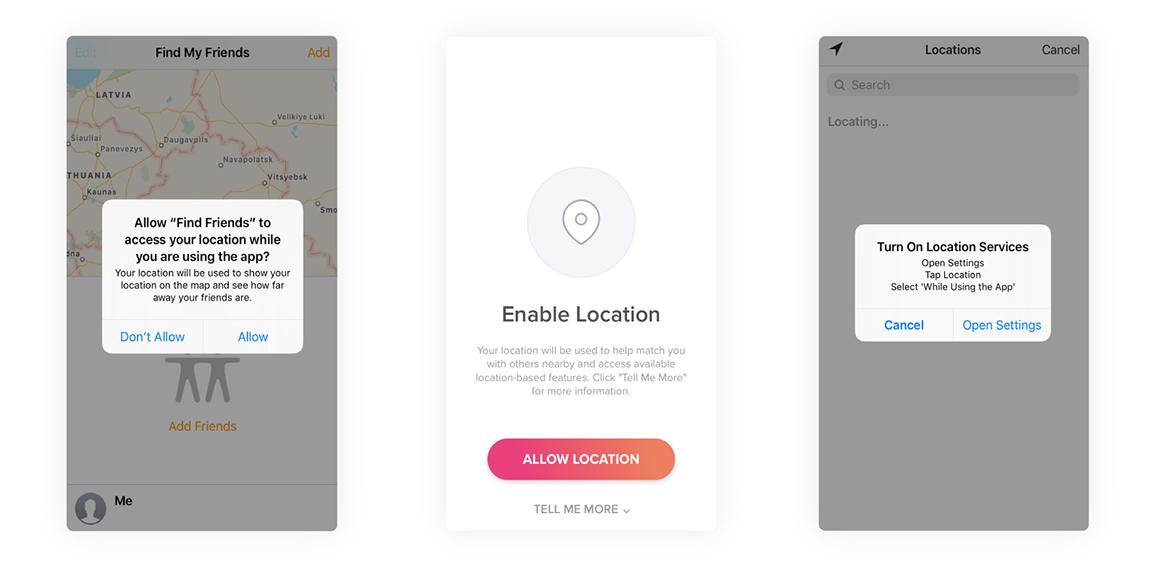 social location based apps