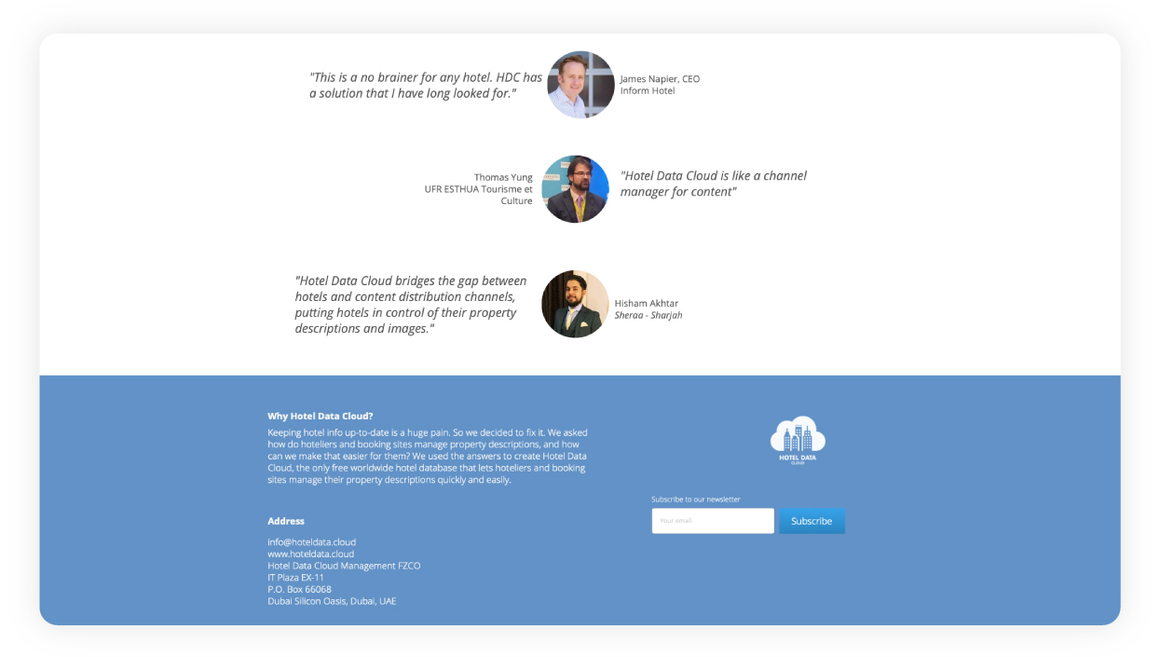 hotel data cloud hotel management software