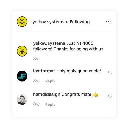 social app comments