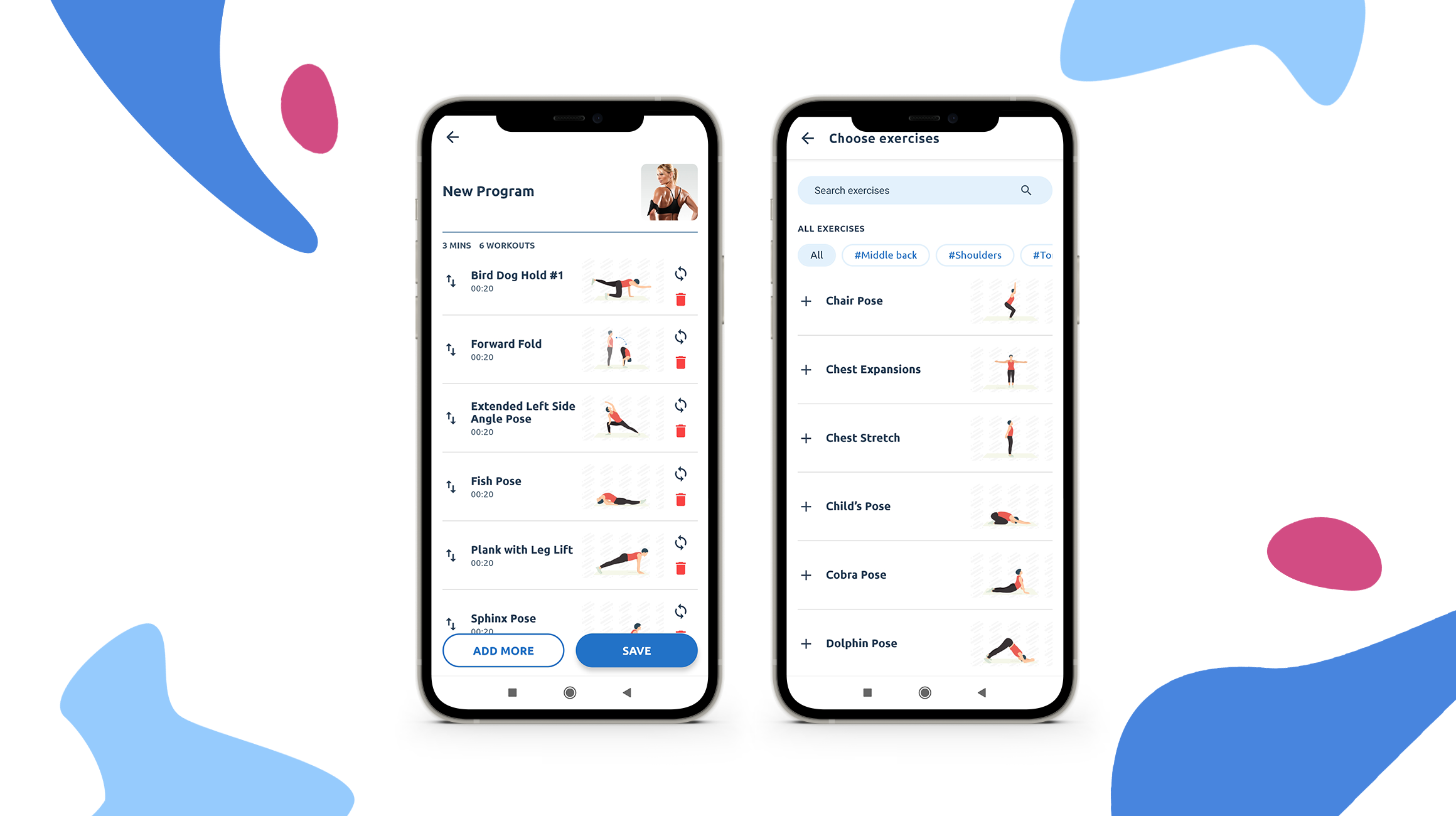 custom workouts in fitness apps