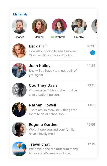social app friends