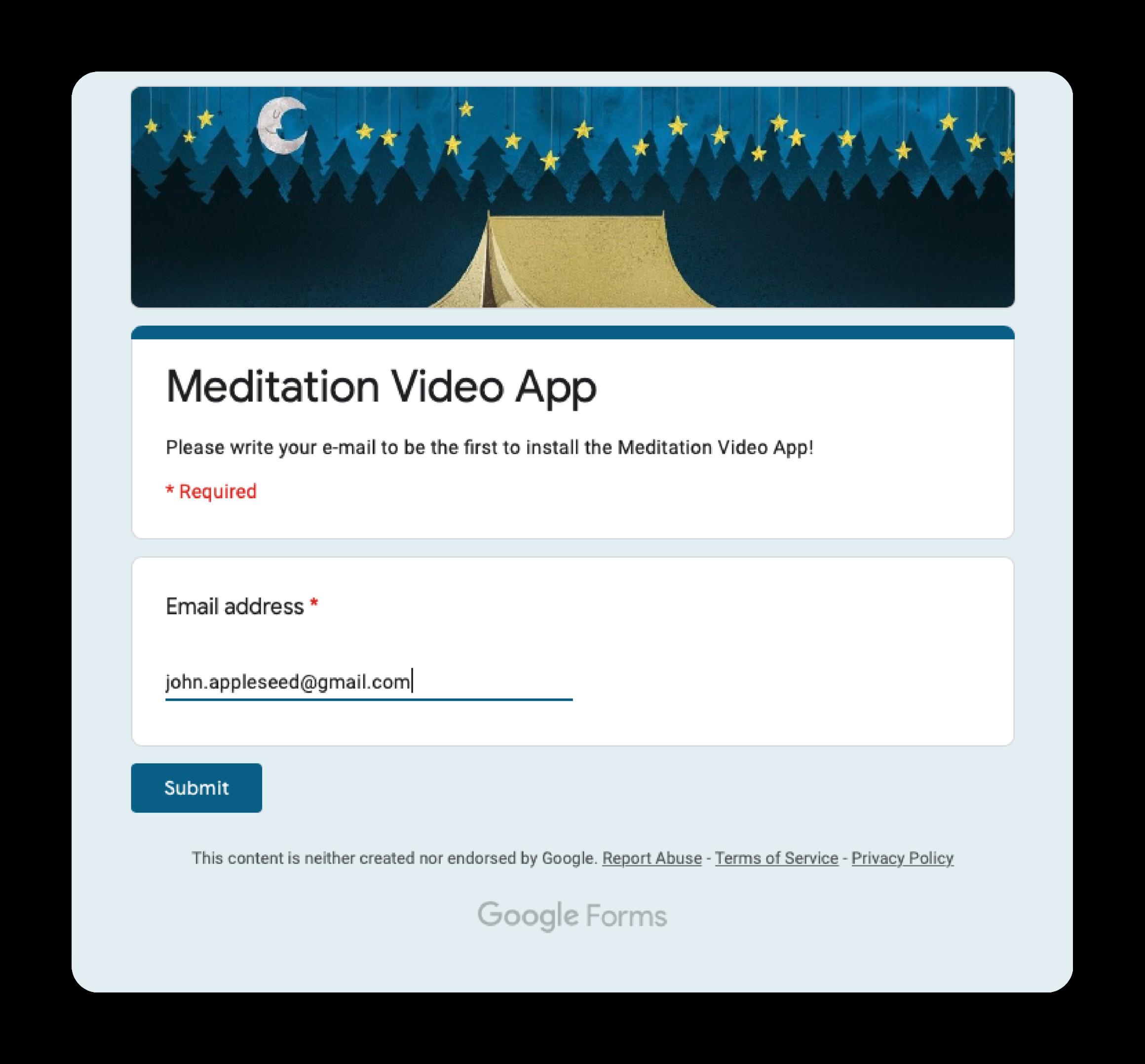 meditation-email-form