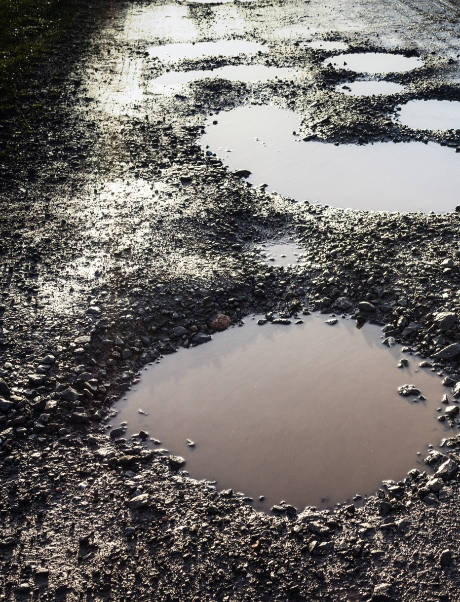 Beware These Budgeting Potholes