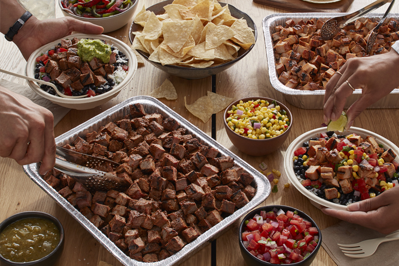 Invite the hot bar to the party to feed any group!