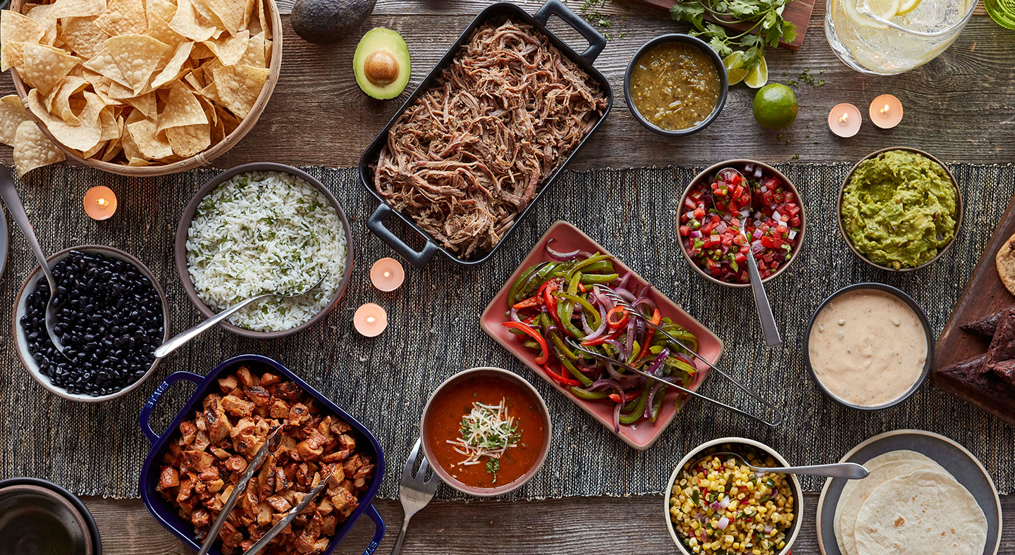 Qdoba catering is perfect for any gathering! Order today.