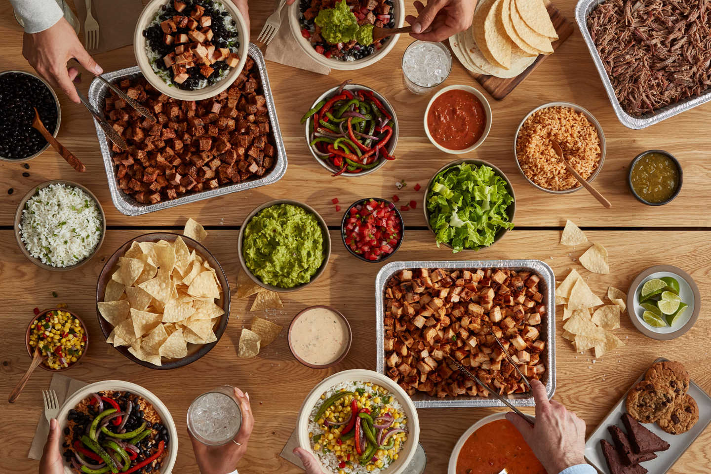 QDOBA Catering is the best way to bring flavor to any gathering!