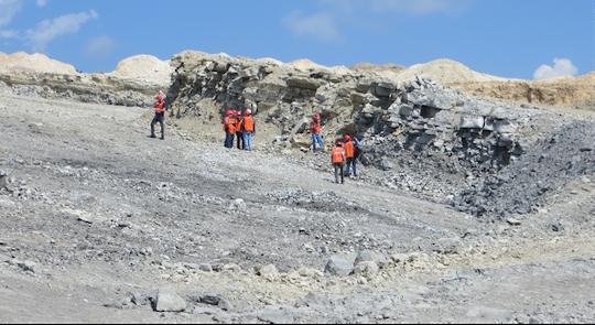 plunging limestone