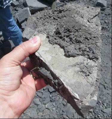 oil-rich shale
