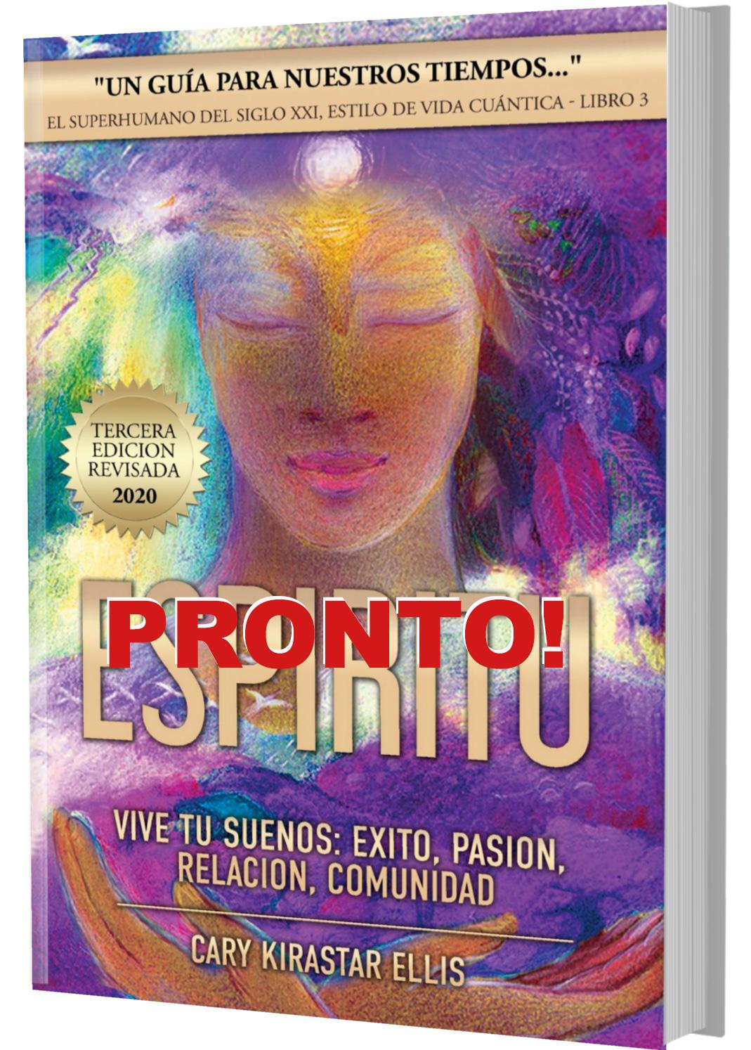 Book cover Espiritu