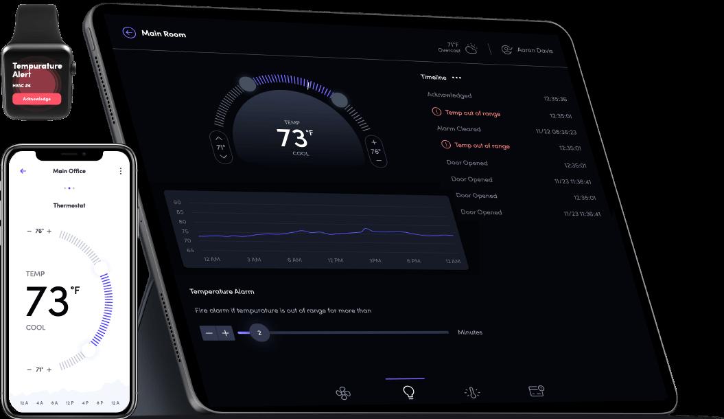 Chariot IoT app