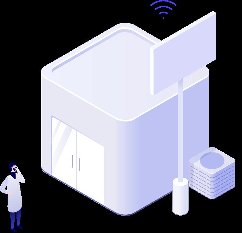 smart restaurant building