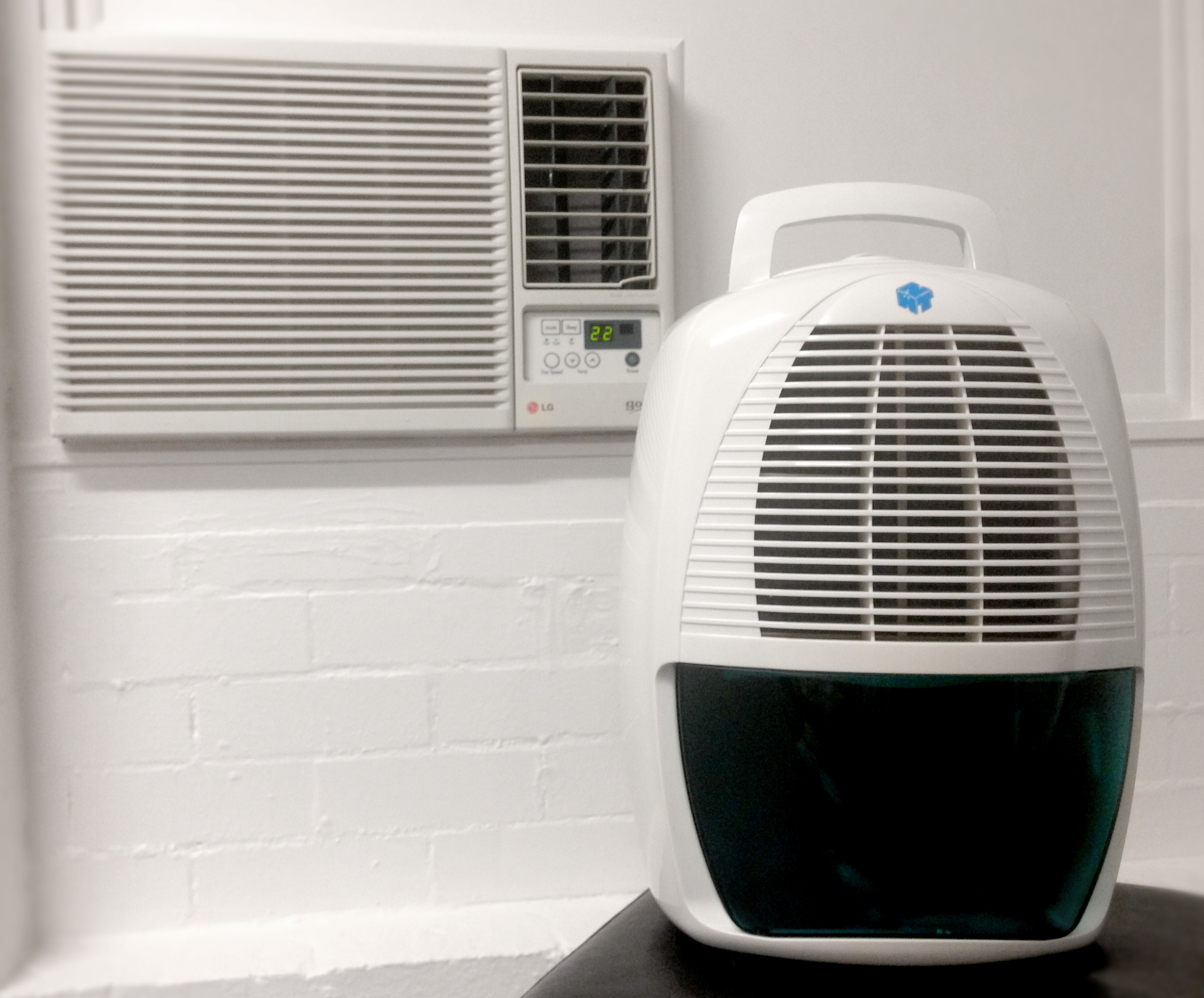 Get more out of your Air Conditioner with a Dehumidifier!