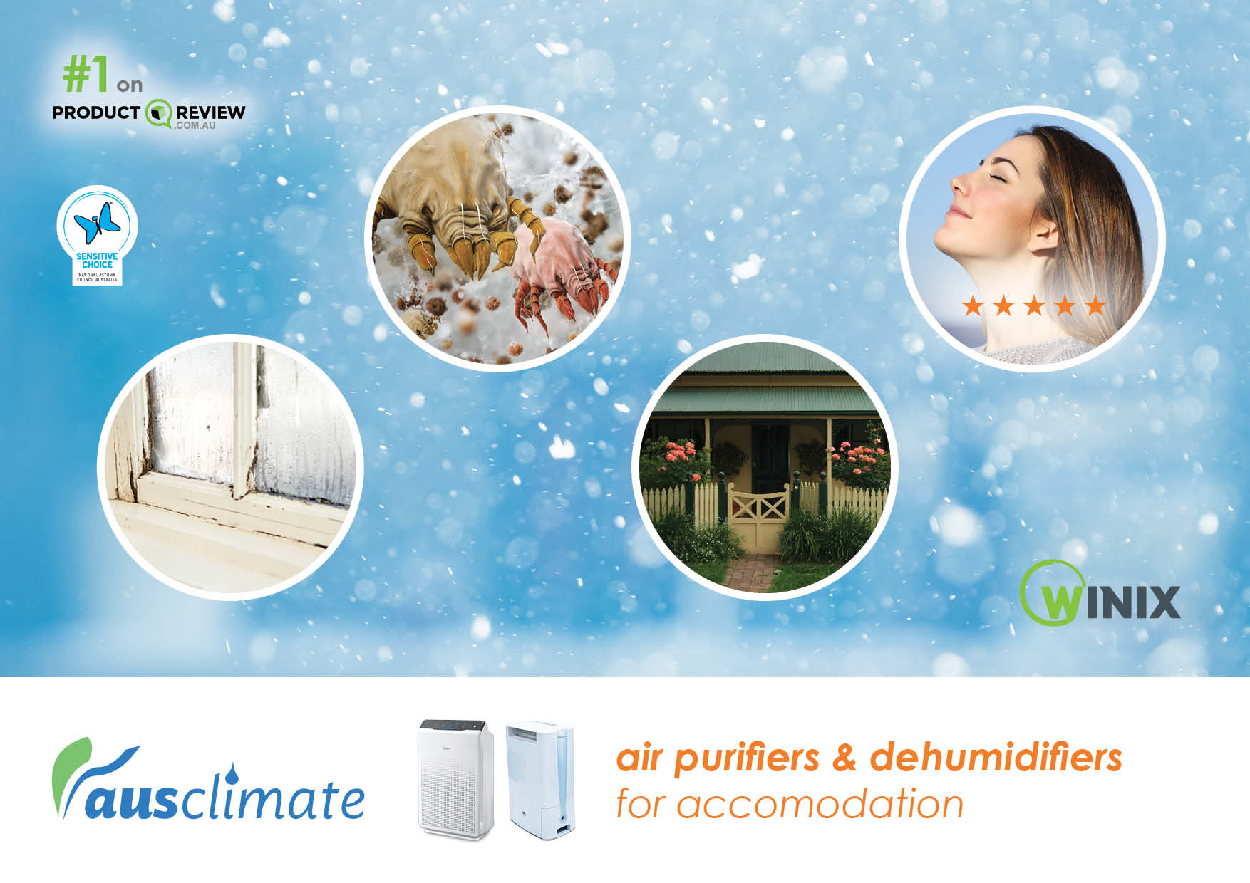 Dehumidifiers and Air Purifiers from Accomodation [Social Media]