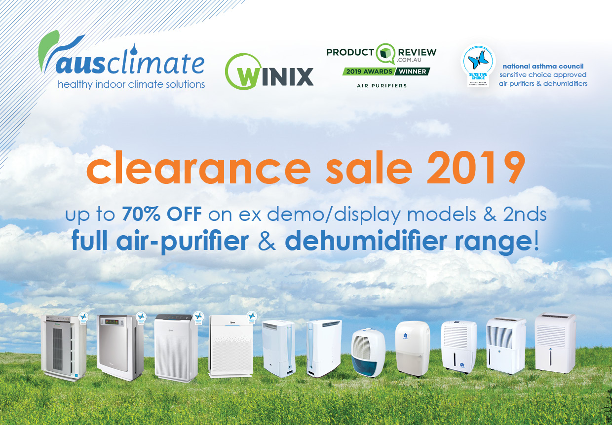 Ausclimate Clearance Sale 2019