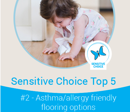 Asthma and allergy friendly flooring options