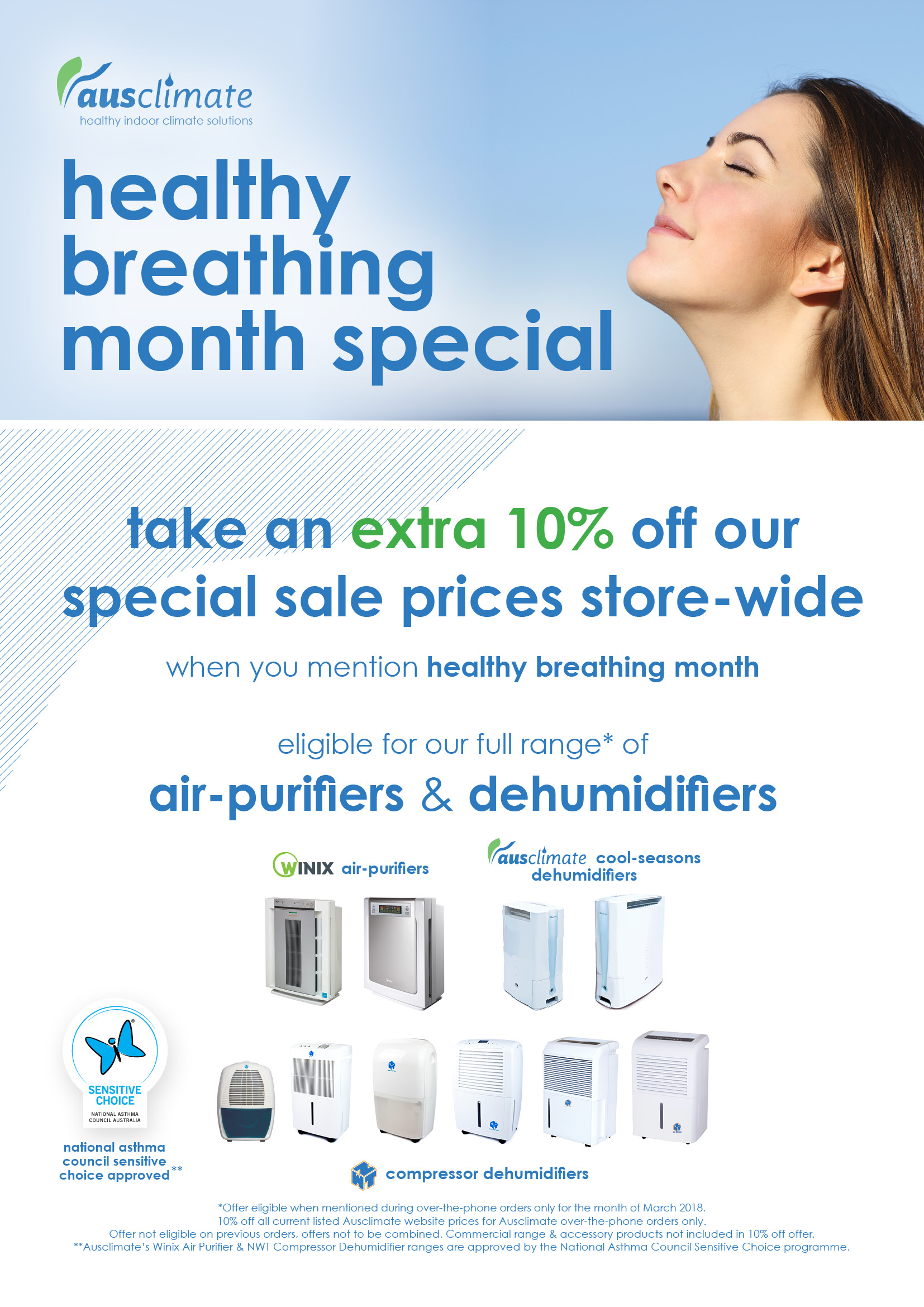 Healthy Breathing Month Special 2018