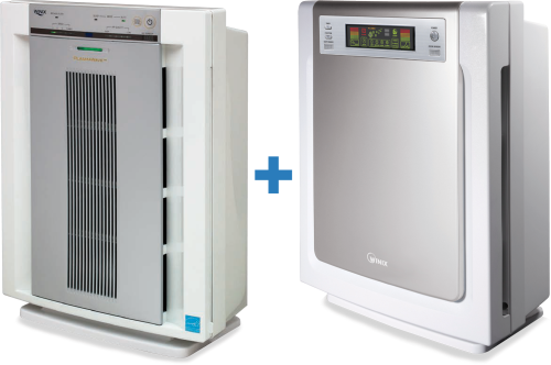 Winix Air Purifiers Australia: 4-5 stage HEPA filtration