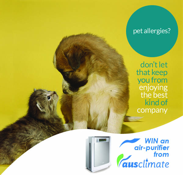 Ausclimate Air Purifier Comp - PetAllergies