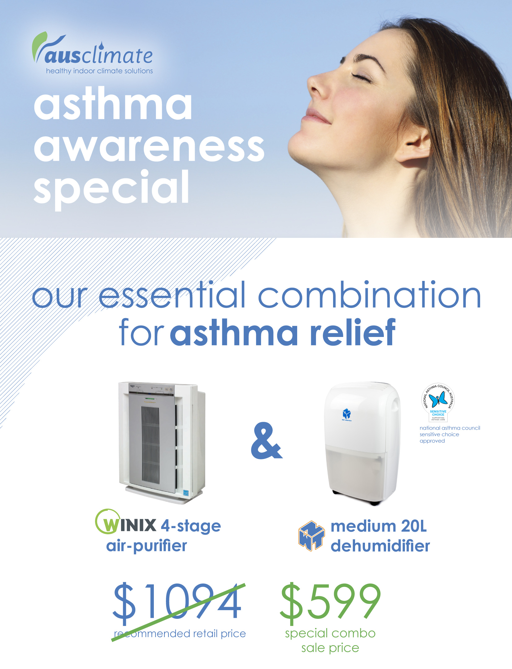 Ausclimate Asthma Awareness Special A4