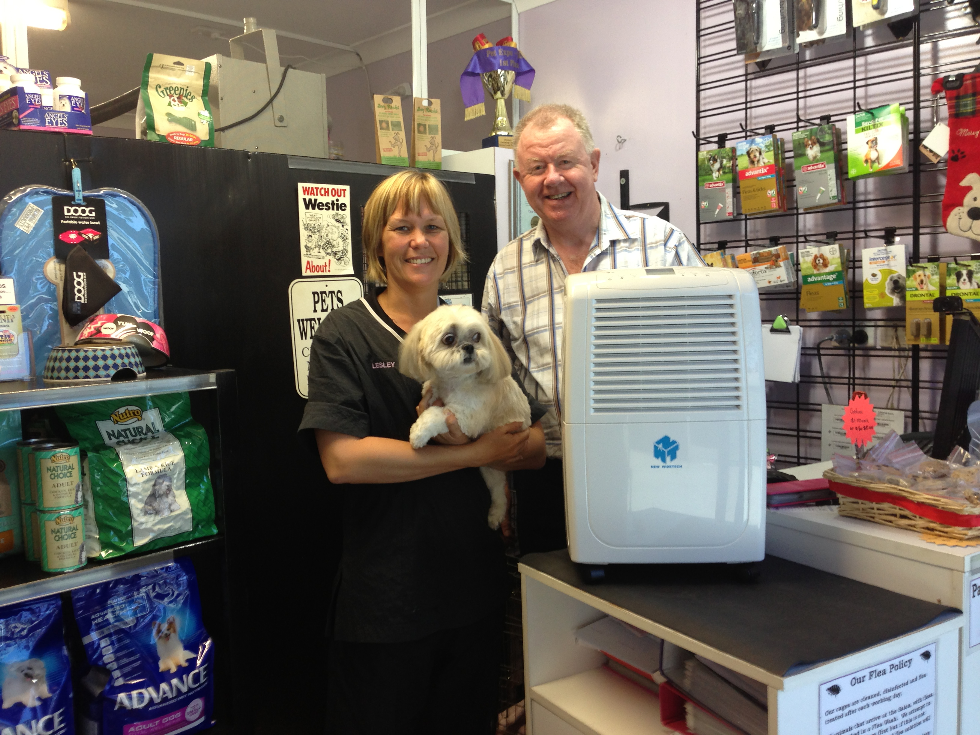 Ausclimate Visits Pure Paws