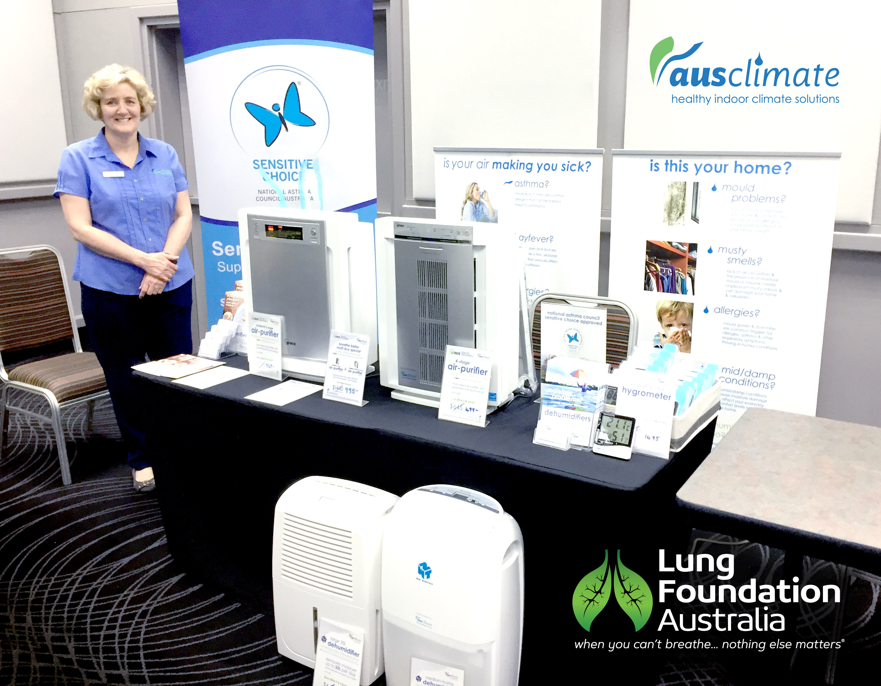 Ausclimate-Lung Foundation Chermside Seminar