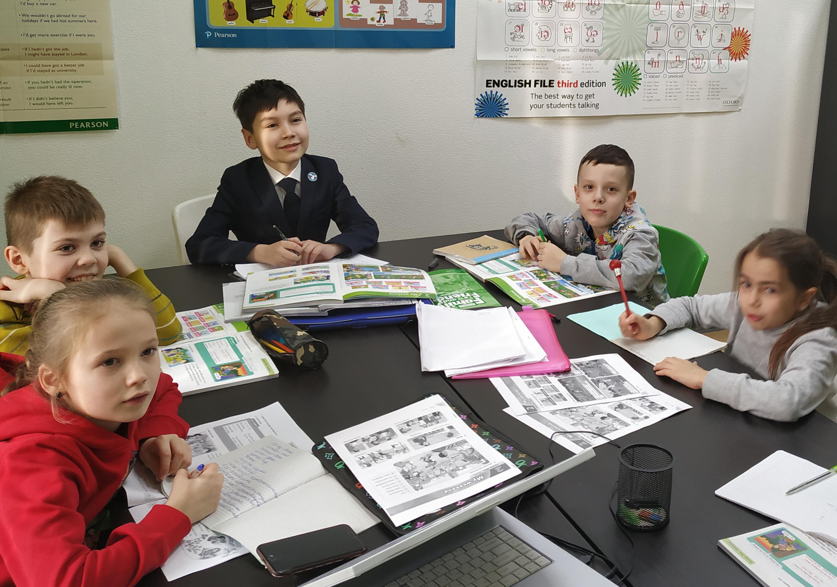 Английский для детей, разговорный английский для школьников