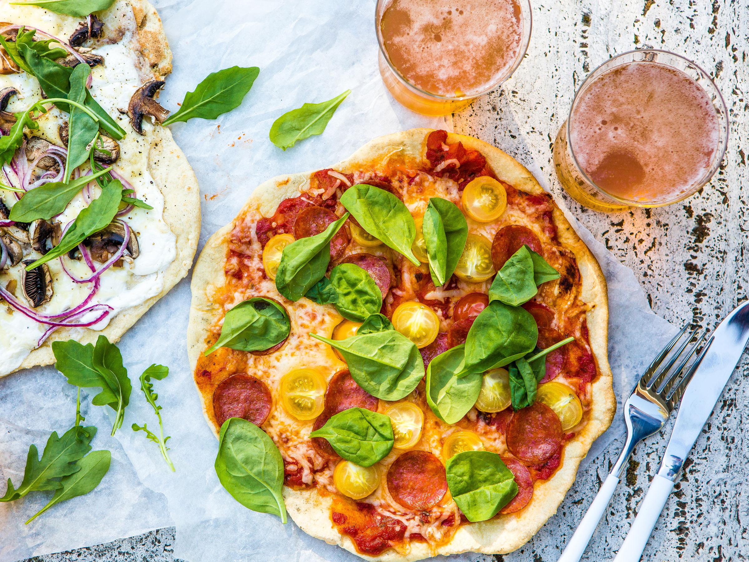 Grillipizza - Reseptit