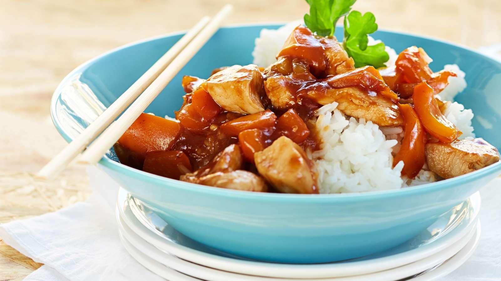 riisi ja kana resepti