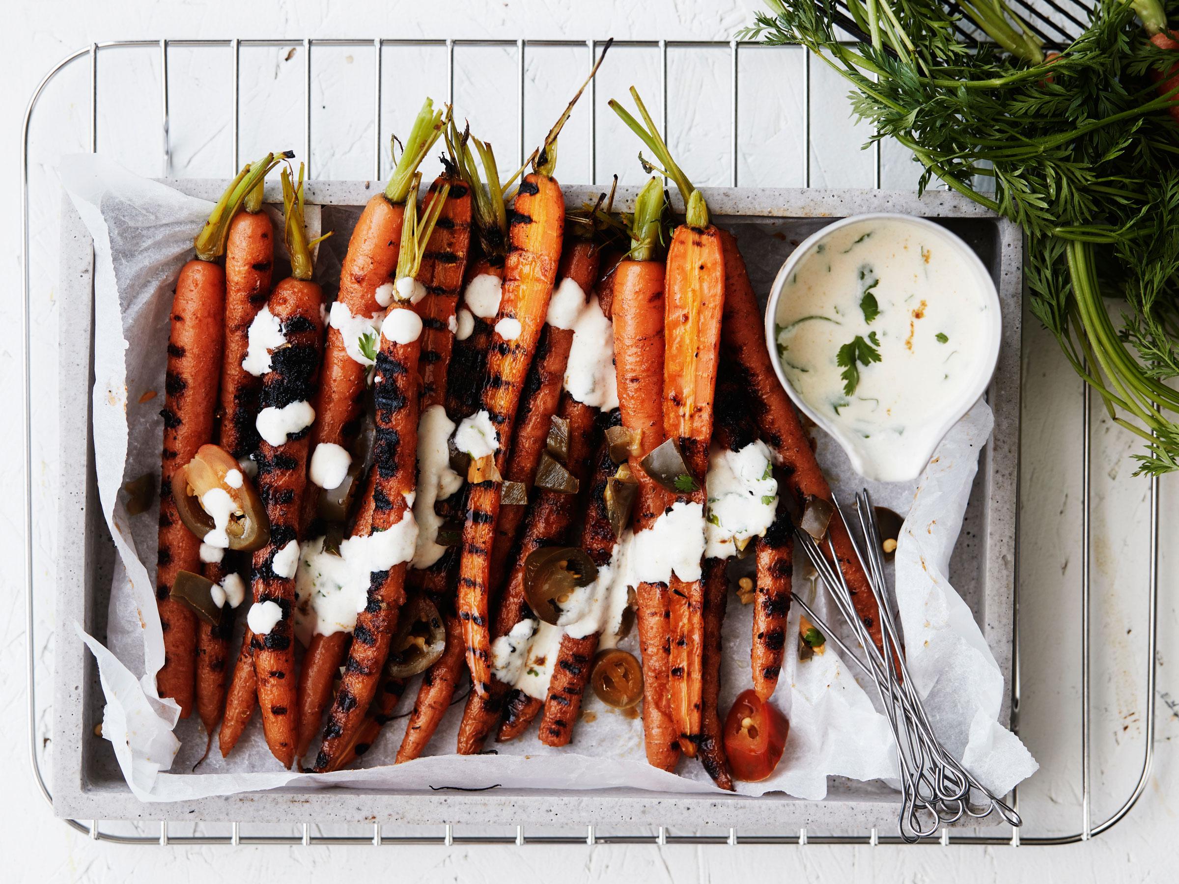 Texmex-porkkanat ja cheddarkastike - Reseptit